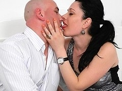 Horny couple fucking like crazy