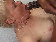 Black man hard fuck silly older woman