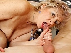 Horny housewife gets fucked by her toyboy