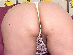 Big British mature lady playing with herself