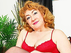 Older Jitka Loves Men Half Her Age To Fuck