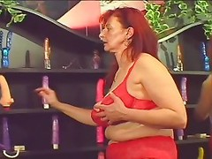 Hot Mature Gal Has A Secret Room For Sex