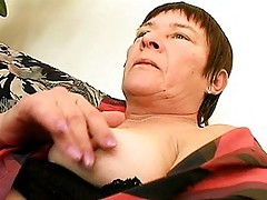 Hairy Mature Pussy Makes Stud Cum Quick