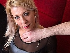 Naughty mom sucking and fucking in POV style